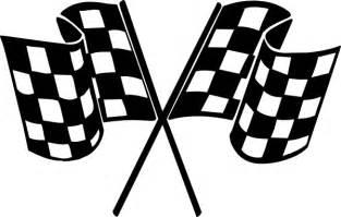 Checkered Flag Clip Art, Race Flag Free Clipart.