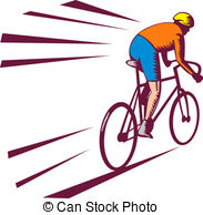 Racing bicycle clipart...