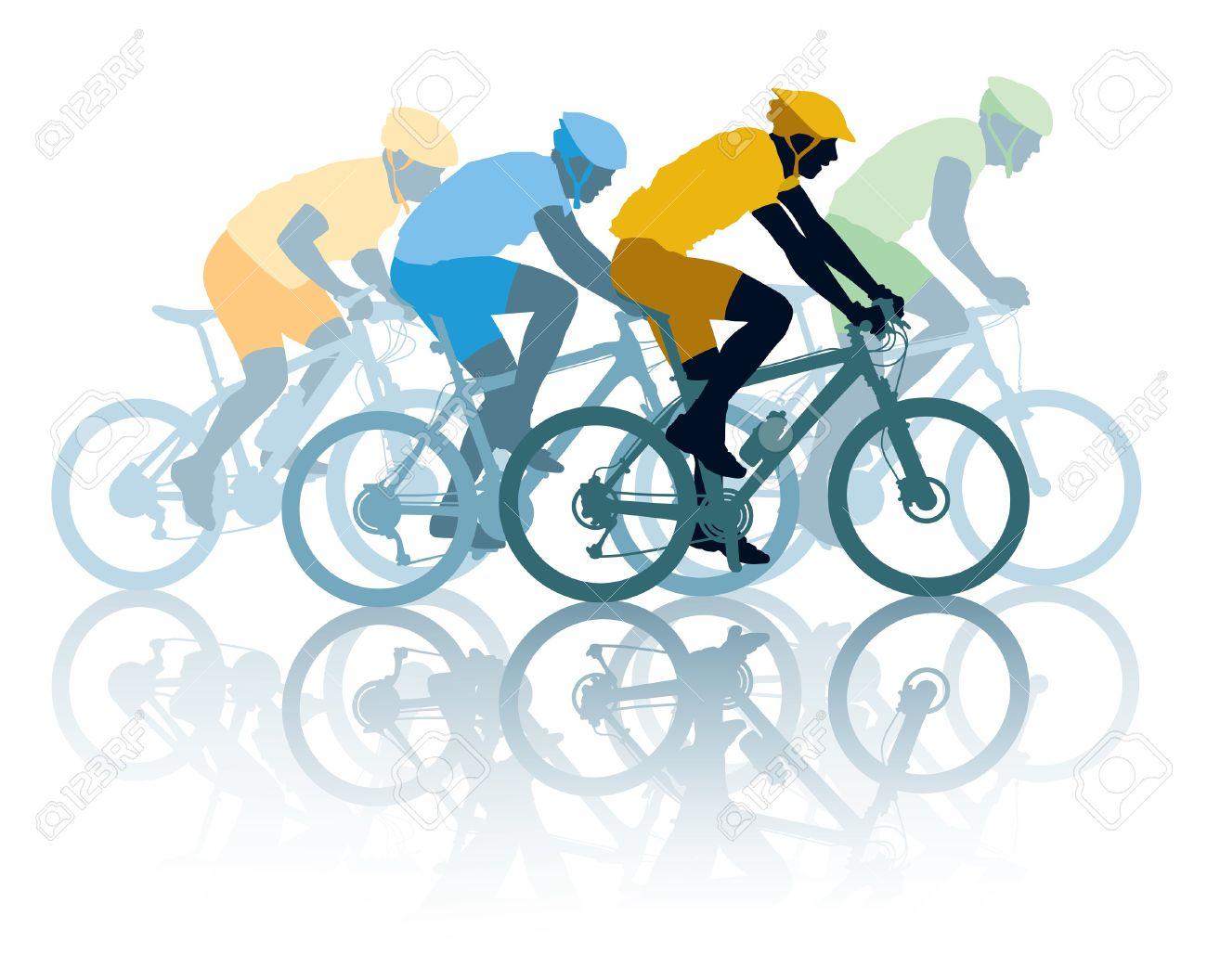 Fabricaciop: Racing Bicycle Clipart.