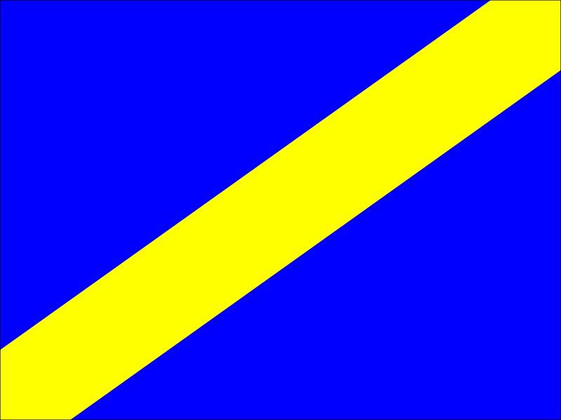 Racing flags.