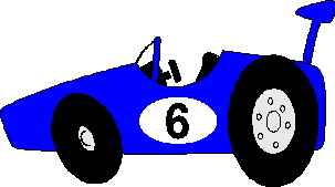 Race car moving clipart.
