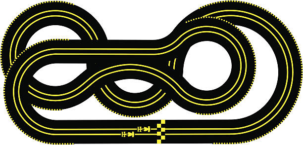 Motor Racing Track Clip Art, Vector Images & Illustrations.
