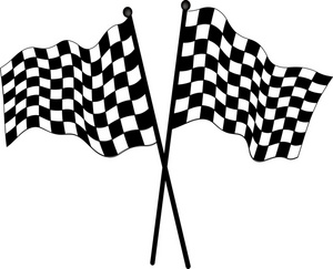 Racing race car clipart black and white free clipart images.