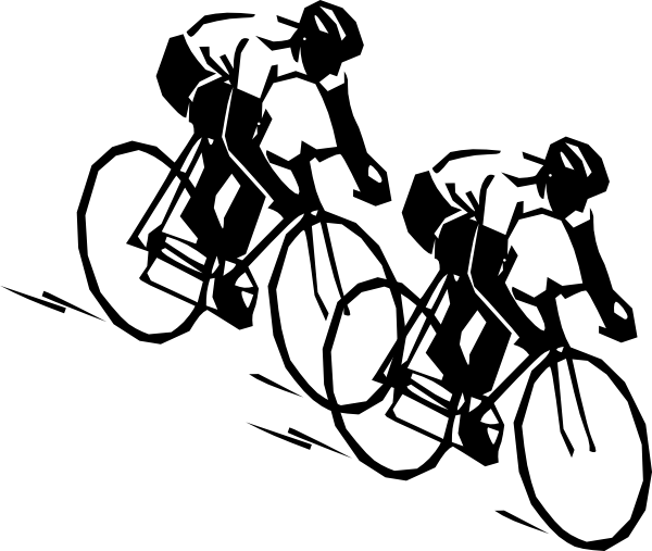Bike Race Clipart.
