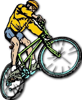Racing bike hd clipart.