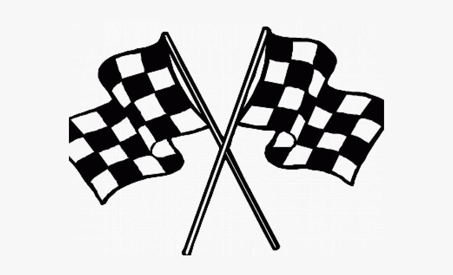 Finish Line Clipart Flag.