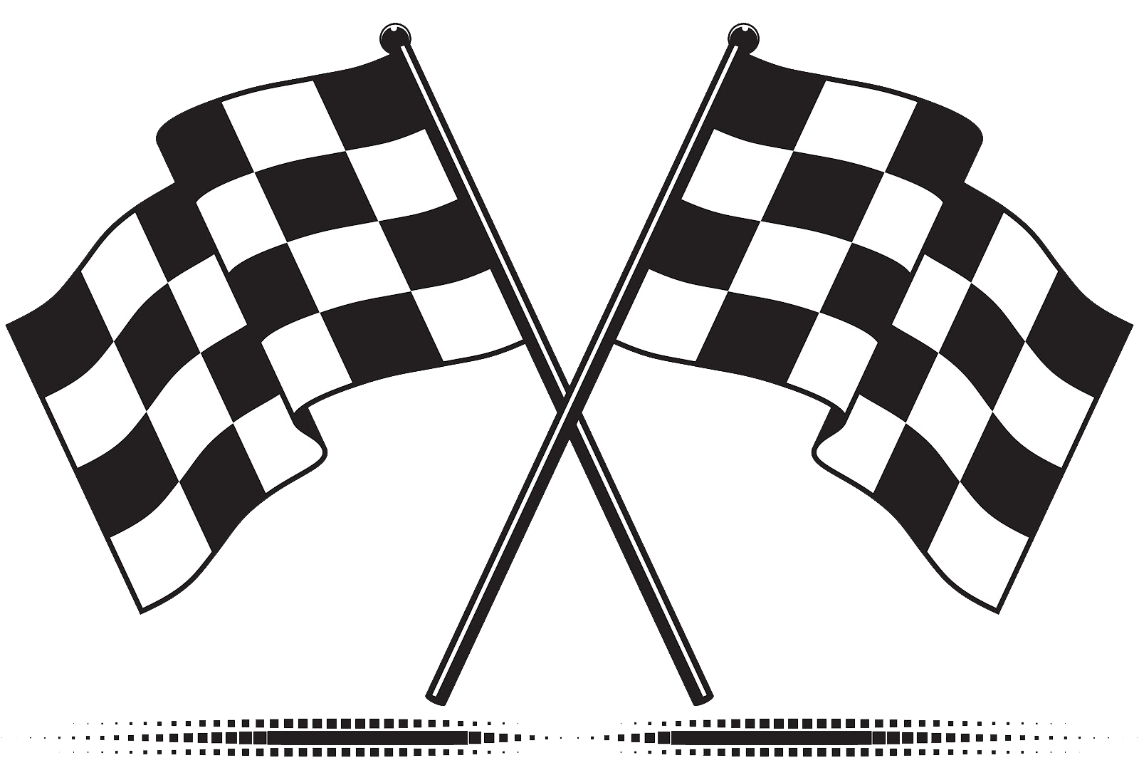 Racing Flag PNG Transparent Images.