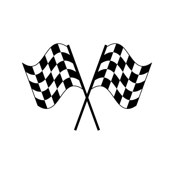 Racing Flag Stand Clipart Clipground