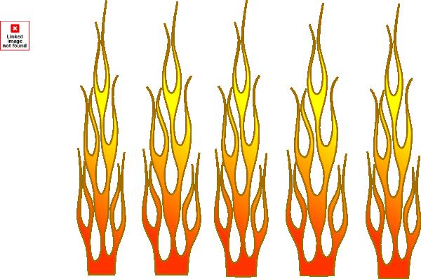 Racing Flame Clip Art at Clker.com.