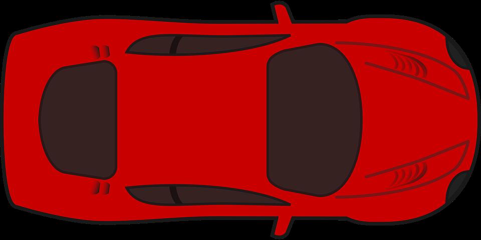 Free vector graphic: Racing Car, Car, Game, Racing, Red.