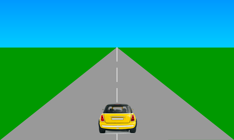Racing road clipart.