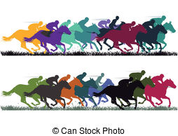 Horse racing Vector Clip Art Royalty Free. 4,631 Horse racing.