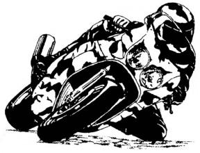 Racing Motorbike PNG Clipart.