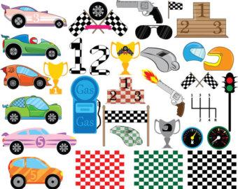 race car clipart.