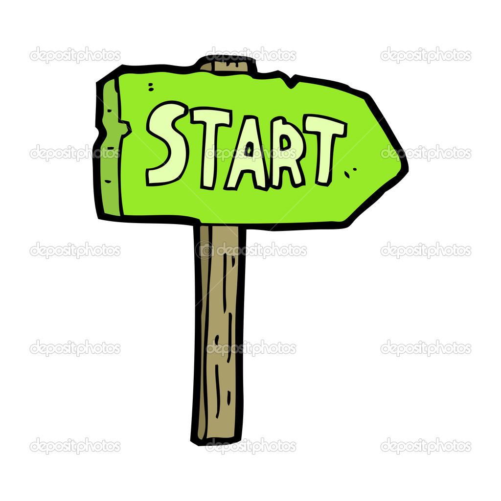 Start line clipart #15