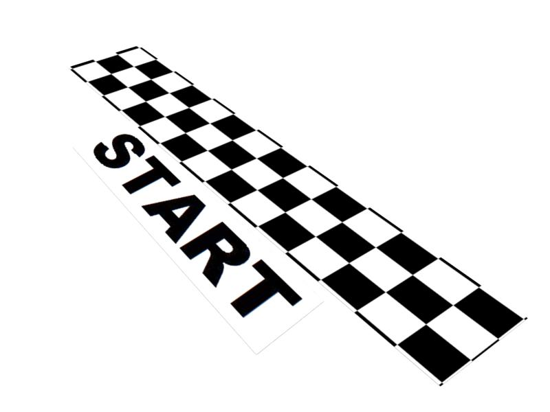 Racing Start Clipart.