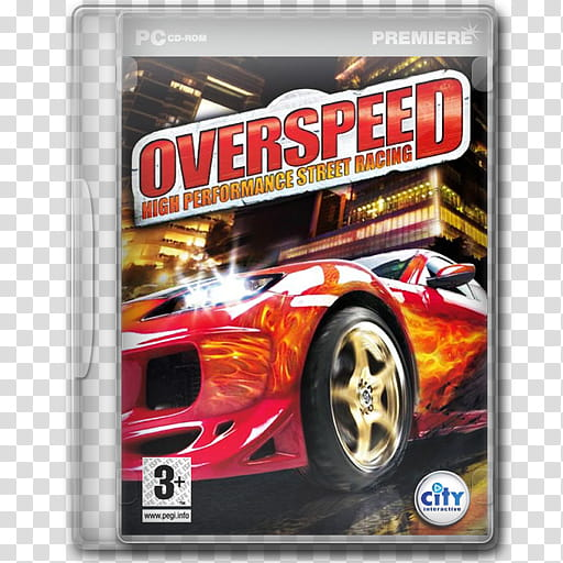 Game Icons , Overspeed High Performance Street Racing.