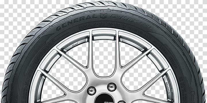 Tread Car General Tire Alloy wheel, racing tires transparent.