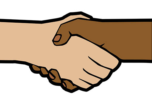 Racism clipart.