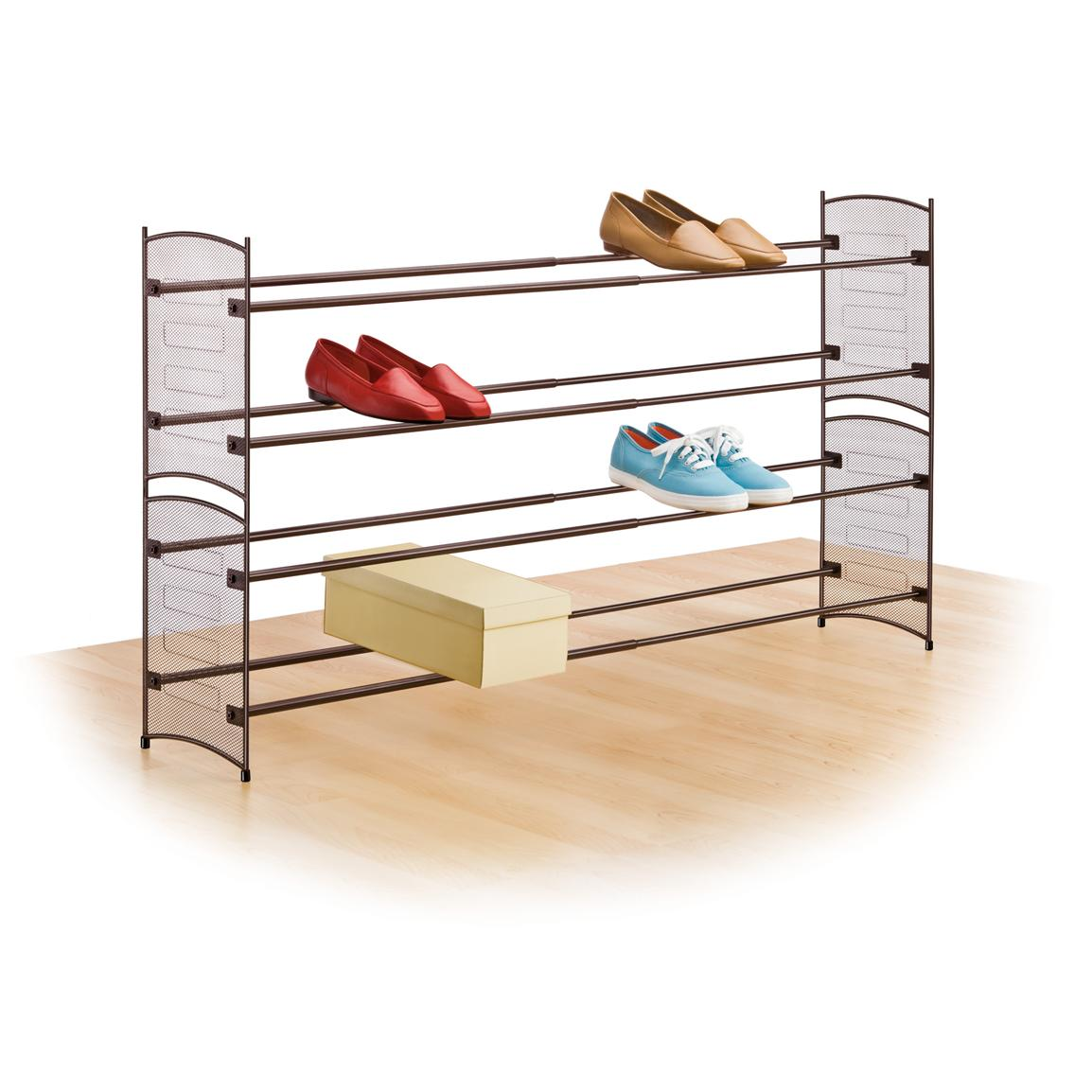 Shoe rack clipart.