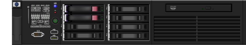 Free Clipart: Server 2U.