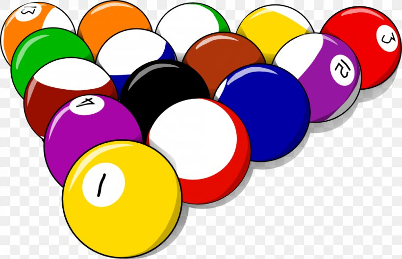 Pool Billiard Balls Rack Billiards Clip Art, PNG, 1000x644px.