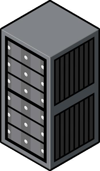 Server Rack Cabinet Clip Art at Clker.com.