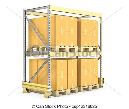 Warehouse cliparts.
