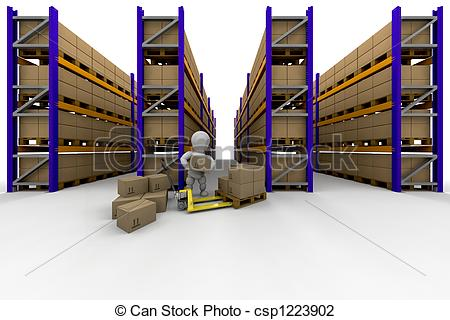 Clip Art of Racking.