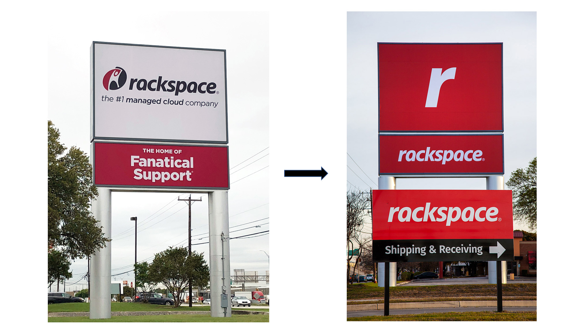 Brand New: New Logo and Identity for Rackspace by Havas.