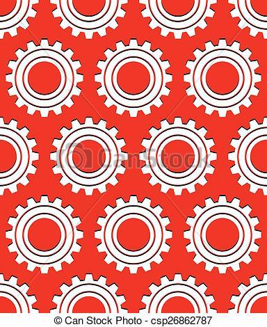 Vector of Various gear wheel, rack wheel vector graphics.