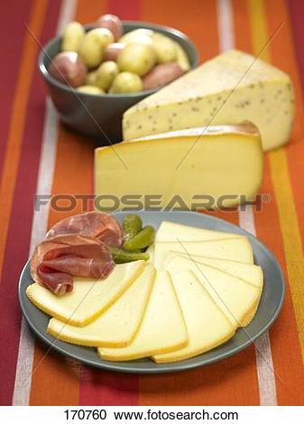 Stock Photography of Raclette cheese 170760.