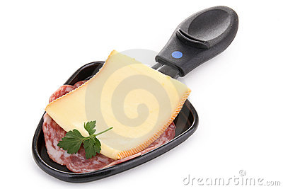 Raclette Cheese Isolated White Background Stock Photos, Images.