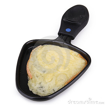 Raclette Cheese Stock Images.