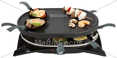 Stock Photo Raclette.