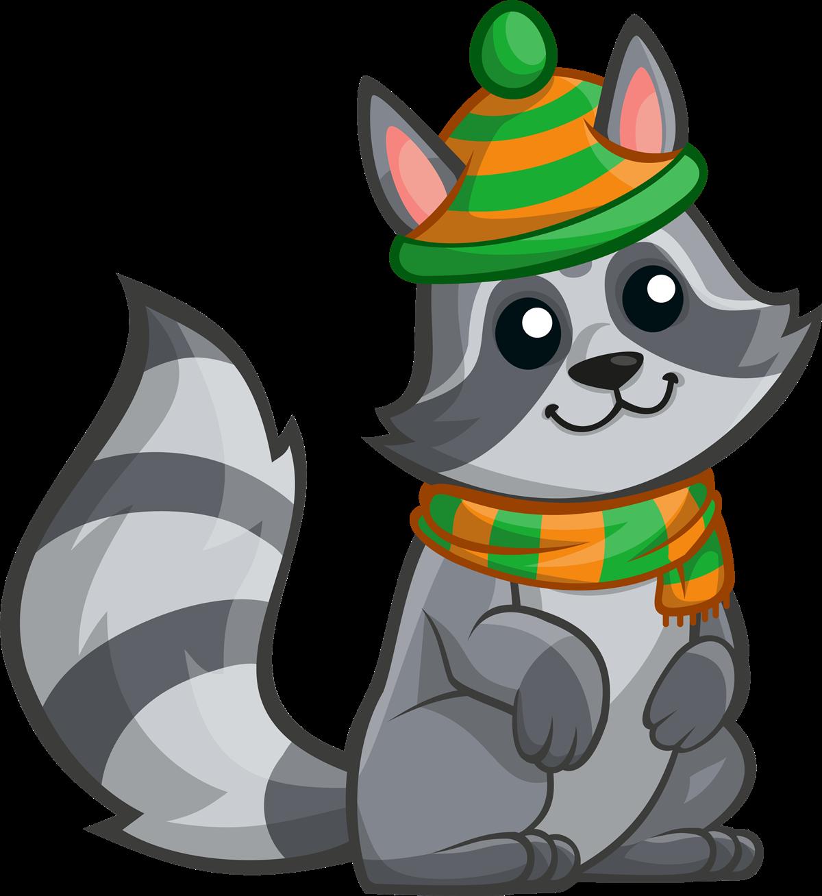Raccoon clip art at vector clip art 4.