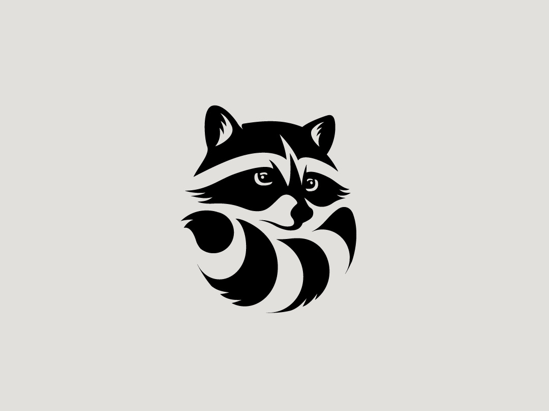 Racoon Logo by Codoro Studio™ on Dribbble.