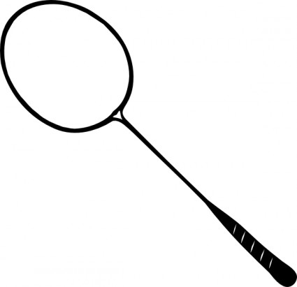 Tennis Racquet Clipart.