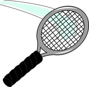 Tennis Racquet Clip Art.