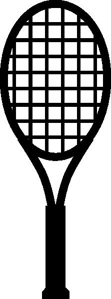 Tennis Racket Clipart.