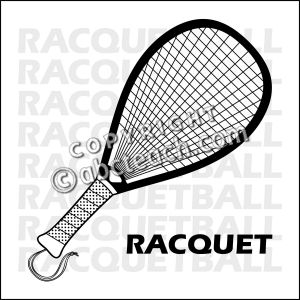 Racquetball Clipart Free.