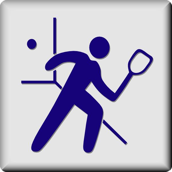 Racquetball Clipart.