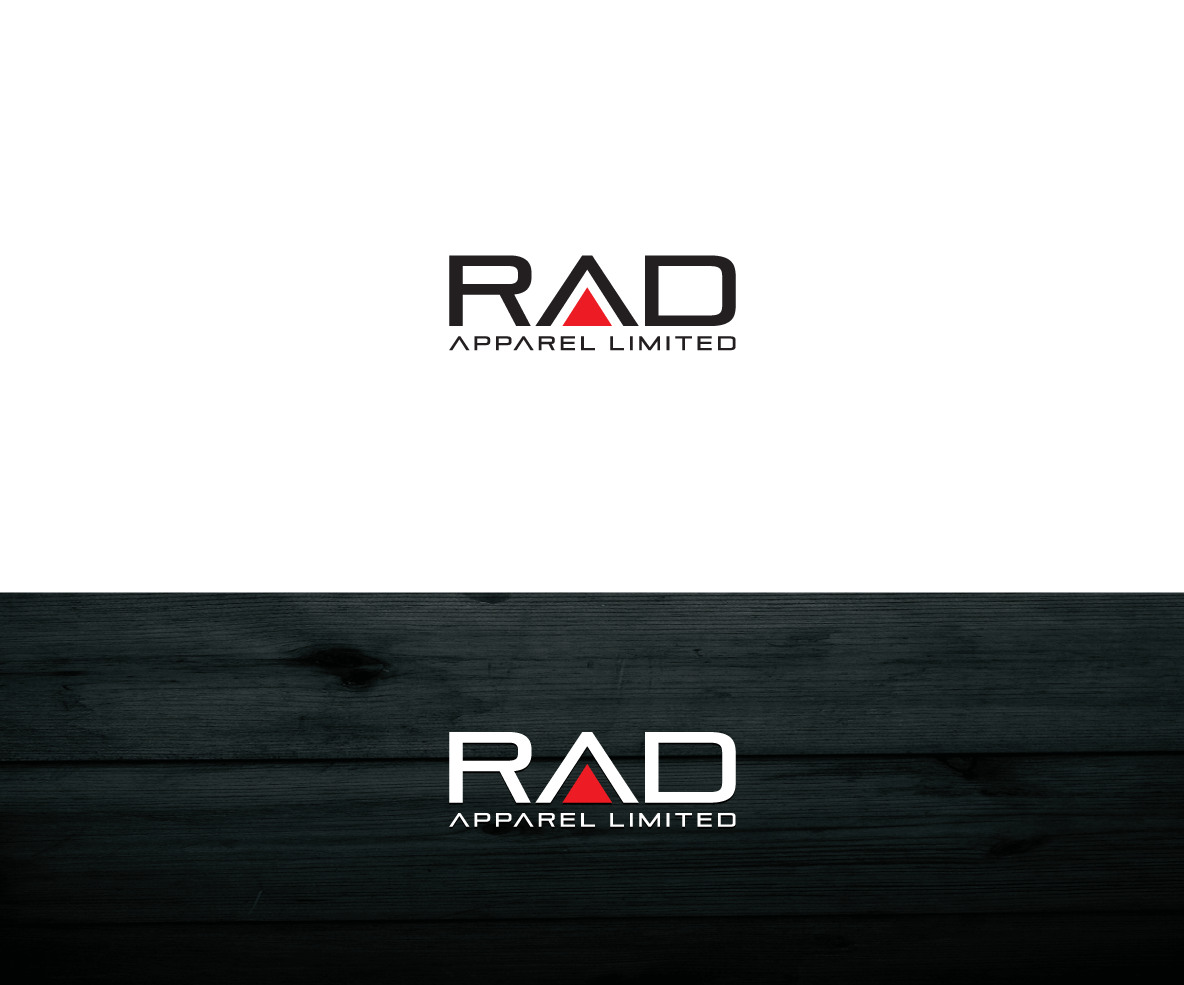 Modern, Professional, Clothing Logo Design for RAD Apparel.