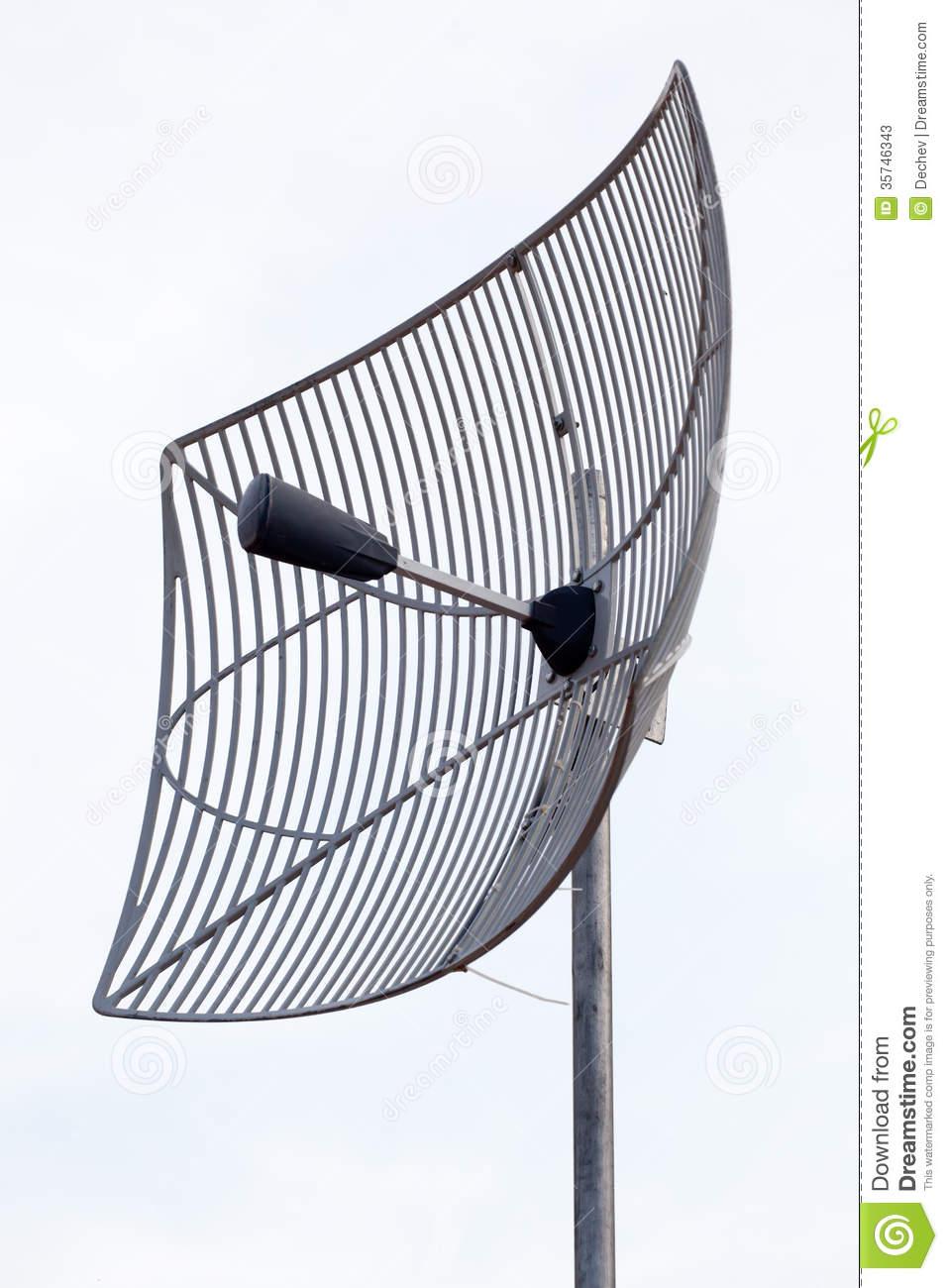 Radar Antenna Clip Art.