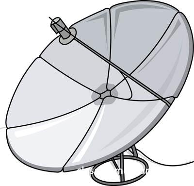 Radar Dish Clip Art.