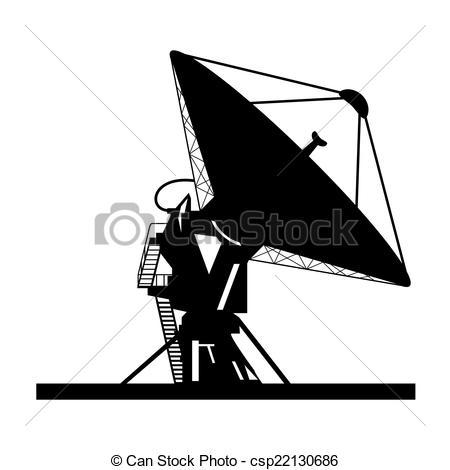 Vector of Satellite dish.