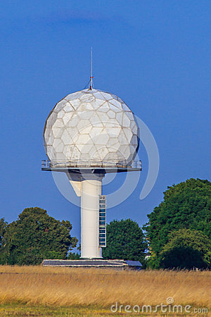 Radar Dome Stock Photos.