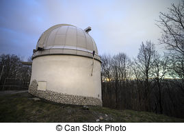 Stock Photo of Radar dome.