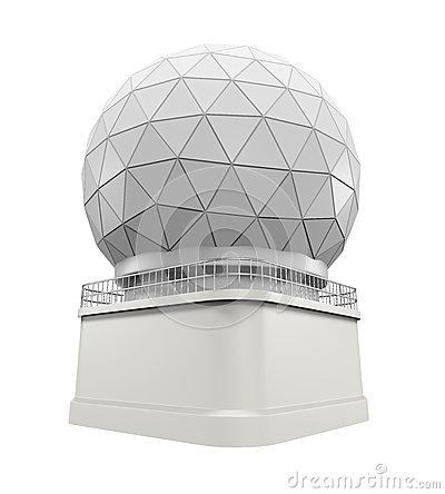 Doppler Radar Dome Stock Images.