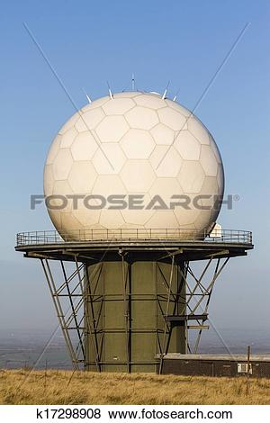 Pictures of Titterstone Clee Hill, National Air Traffic Services.